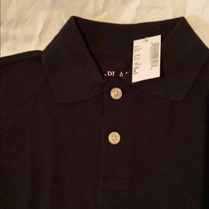 New with tags black polos